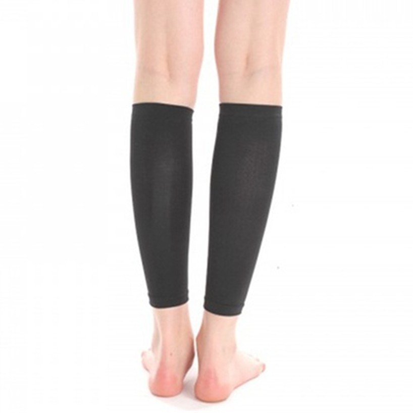 2-Pack New Slimming Calf Shapers Sleeves Fitness Running Cycling Knee Support Sports Compression Stockings Thermal Thigh Sleeves