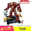 Lepin 07101 Marvel Super Heros Series Compatible With 76105 Iron Man Anti Hulk Mech Toys For