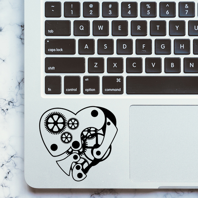 Machine Heart Laptop Trackpad Decal Sticker For Apple Macbook Pro
