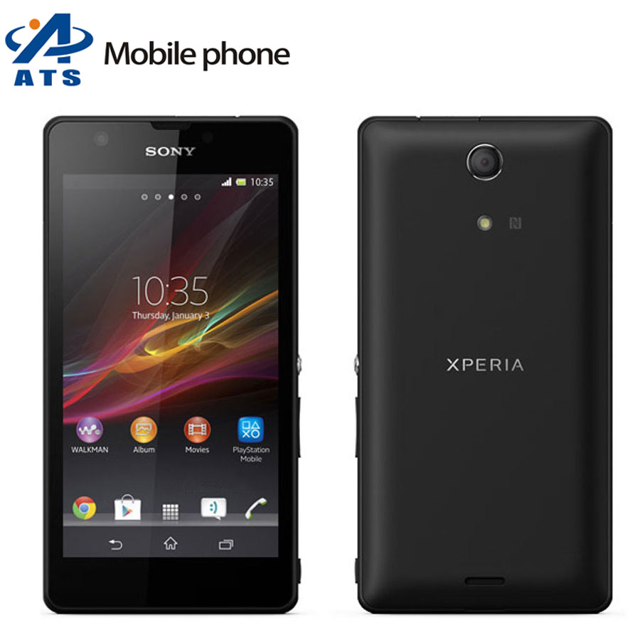 Camera Sony Phone Android popular android sony phone buy cheap lots from original xperia zr m36h mobile quad core 8gb wifi gps 4 6