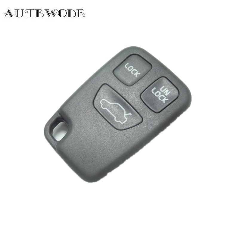 AUTEWODE Remote Car <font><b>Key</b></font> Case Shell <font><b>Replacement</b></font> For <font><b>VOLVO</b></font> <font><b>S40</b></font> S60 S70 S80 S90 V40 NO remote no chip auto accessories 1pc image