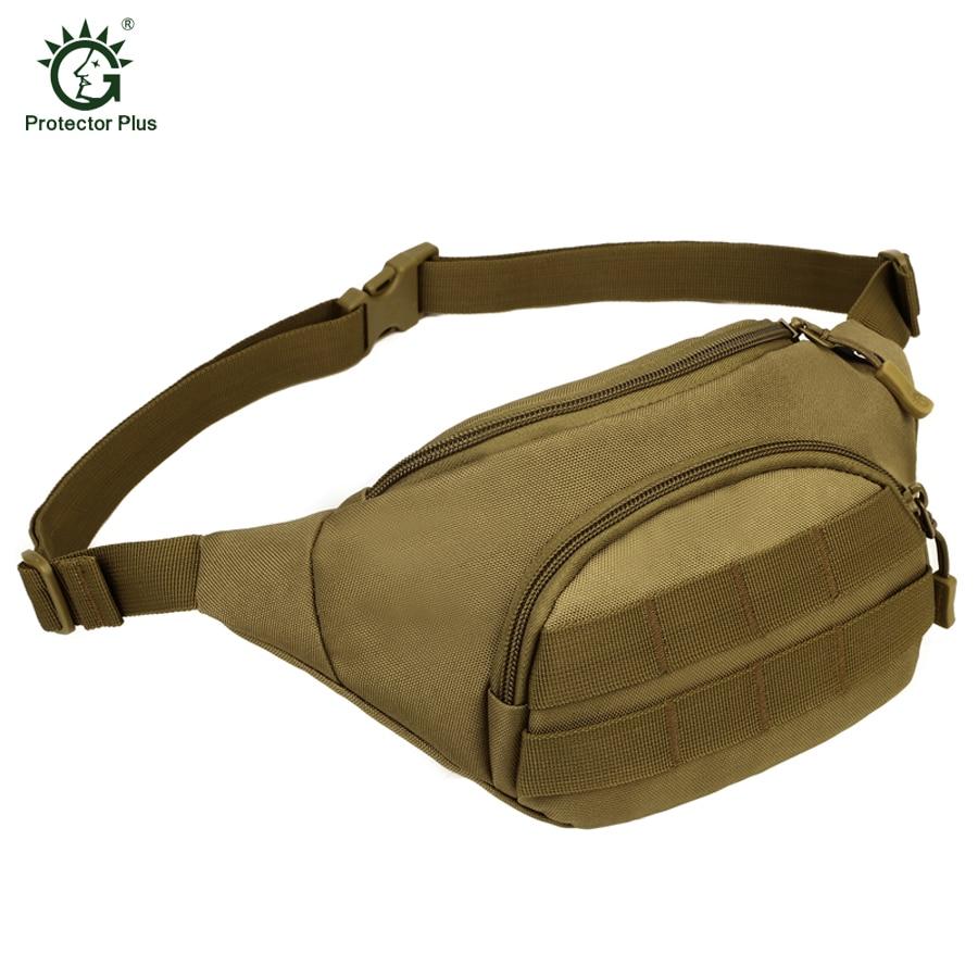 수호자 플러스 전술 몰리 백 방수 허리 가방 화니 팩 - 스포츠 가방