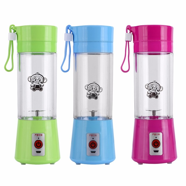 US $15 44 29% OFF Electric Fruit Juicer Machine Mini Portable USB  Rechargeable Smoothie Maker Shake Juice Slow Juicer Bottle Squeezers Cup-in  Juicers