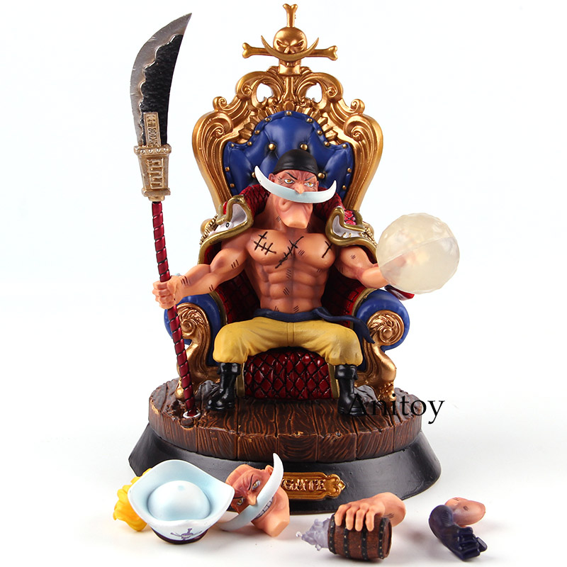Action Figure One Piece Edward Newgate White Beard One Piece PVC Collectible Model Toy new anime one piece kaido four emperors edward newgate white beard big mom 24cm pvc action figure model doll toys in boxed