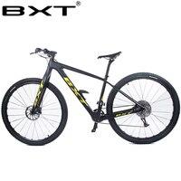 2018 BXT Бесплатная доставка 11 Скорость горный велосипед 29er * 2.1T800 carbon20 Niose 4 подшипника дисковый тормоз 142*12 мм MTB велосипед аксессуары