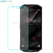 """スマートフォン 9 H 強化ガラス doogee S70/Lite S70lite 5.99 """"オリジナルガラス保護フィルムスクリーンプロテクターカバー電話"""
