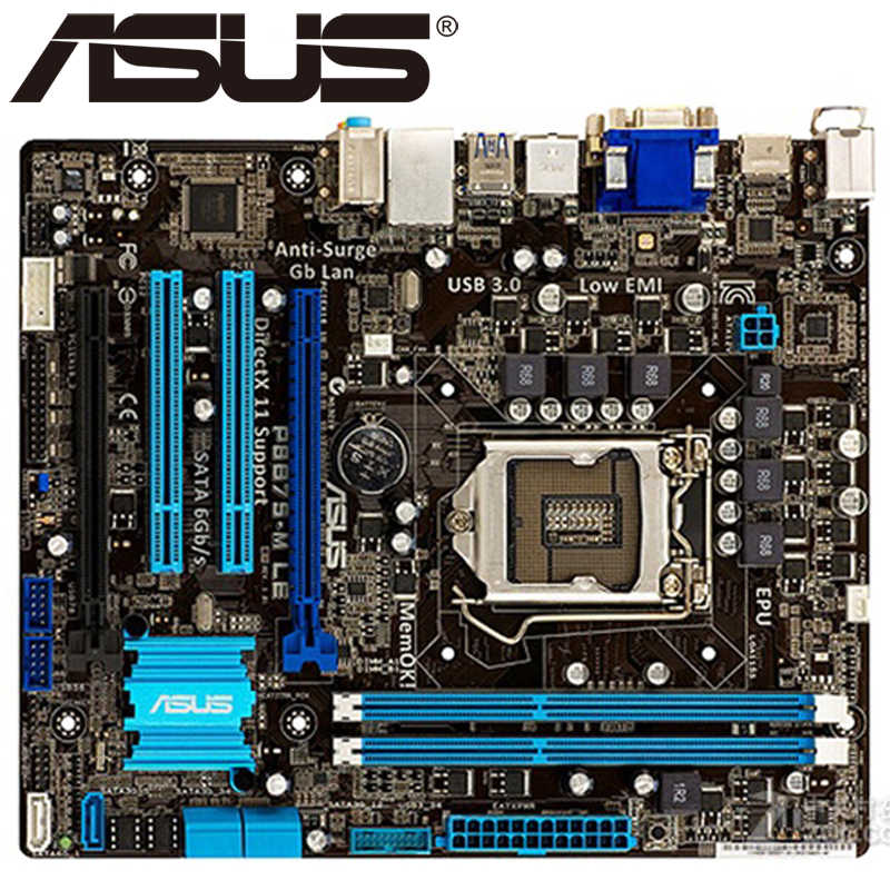 Detail Feedback Questions about ASUS P8 B75 M LX Original