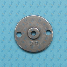 Needle plate (for light) 2.2 # MS02A2101 FOR MITSUBISHI PLK