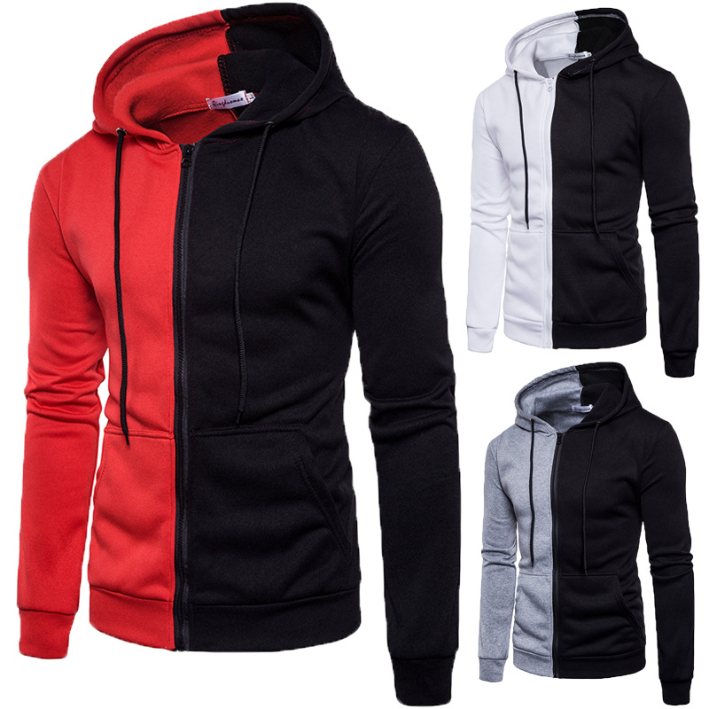 Outdoor Activities Men's Hoodie Men Wear Sports Sweater  Athletic Wear New Type High Quality Cotton Fabrics Color Matching
