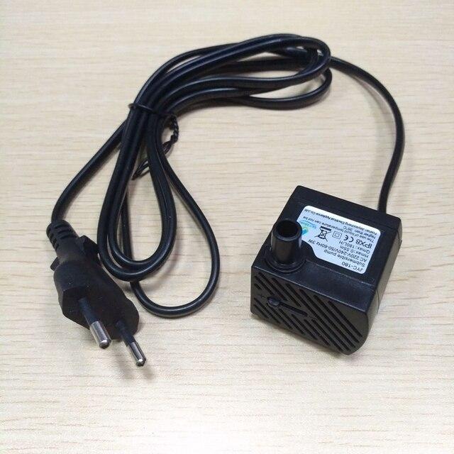 AC 220 В 3 Вт ЕС Plug погружной водяной насос Аквариум Фонтан воздуха пруд 1 шт