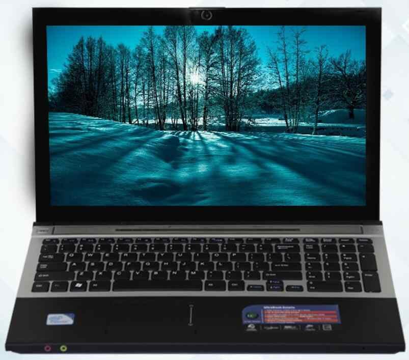 """8GB RAM 240GB SSD 2000GB HDD 15,6 """"HD 1920*1080P Intel Core i7 CPU portátil de juegos de Windows 10 cuaderno con DVD-RW Bluetooth"""
