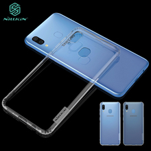 For Samsung Galaxy A30 A20 Case NILLKIN Nature Clear TPU Transparent Soft Back Cover Case For Samsung Galaxy A30 аксессуар чехол samsung galaxy note 7 nillkin nature tpu 0 6mm transparent white 12429
