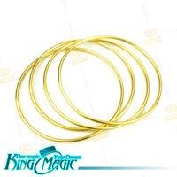 4 Ligando Anéis de Ouro Frete Grátis Truque de Mágica Magie