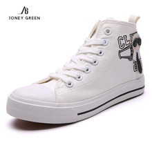 New Arrival 2016 High-top Canvas Shoes Women Flat Shoes Spring/Autumn Fashion Female Male Breathable Shoes Leisure Zapatos Mujer