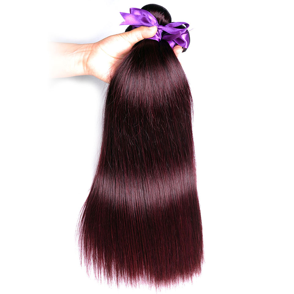 High Quality bundles with closure straight