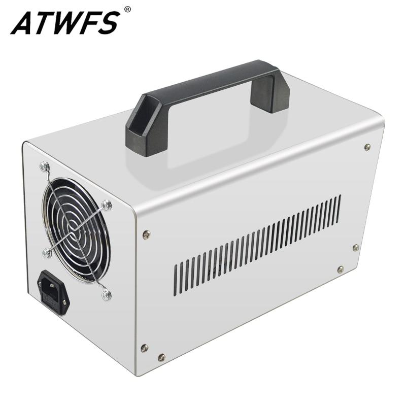 ATWFS супер 10 г генератор озона 220 В в В/110 В очиститель воздуха воды озонатор озона машина стерилизатор очиститель воздуха озонатор