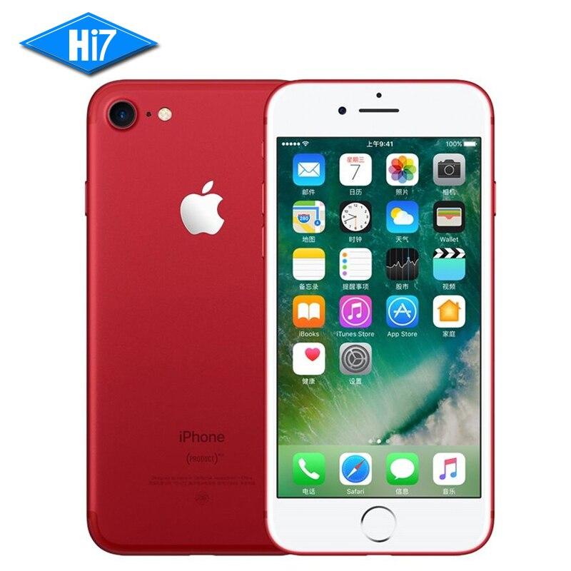 Новый оригинальный мобильный телефон Apple iPhone 7/7 plus 2 ГБ/3 ГБ ОЗУ 128 ГБ/256 Гб ПЗУ IOS 10 12.0MP камера четырехъядерный сканер отпечатков пальцев LTE сотовый