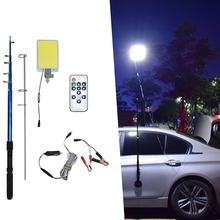 360light COB waterproof Outdoor Lantern rod fishing Camping led Light portable Emergency light for Party Road Trip Photographc