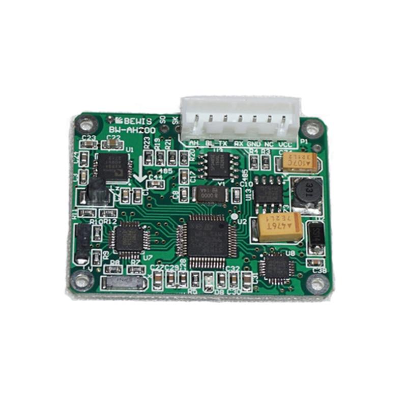 HEC390 9 แกนโมดูล AHRS เข็มทิศดิจิตอล Inclinometer SENSOR Heading ความแม่นยำ 0.3 องศา 9 ~ 35V (RS232 RS485 TTL Modbus อุปกรณ์เสริม)