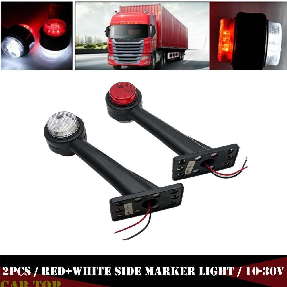 2pcs truck side marker lights 12v