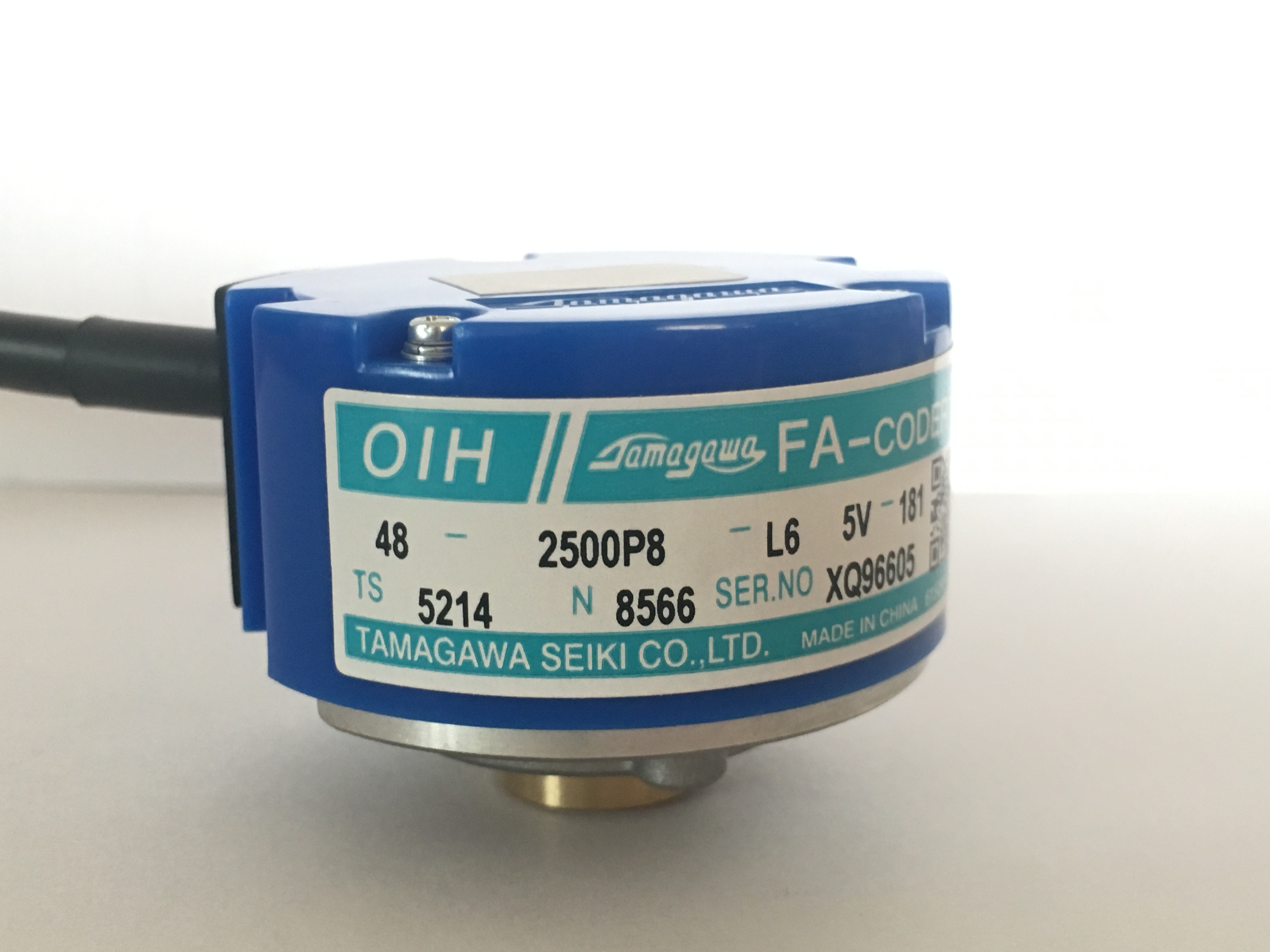 TS5214N8566/566 original Tama Chuan servo motor encoder OIH48-2500P8-L6-5V цены онлайн
