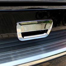 beler Car Styling ABS Chrome Rear Door Handle Trunk Bowl Cover Trim for Jeep Grand Cherokee 2011 2012 2013 2014
