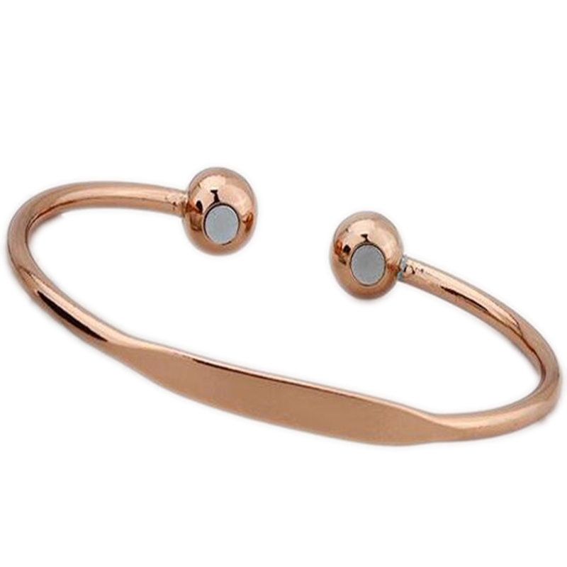 Health Care Bracelets For Women Copper Magnetic Bangle Magnet Bracelet  Charm Jewelry as Gifts Cuff Open 2018 New Arrival