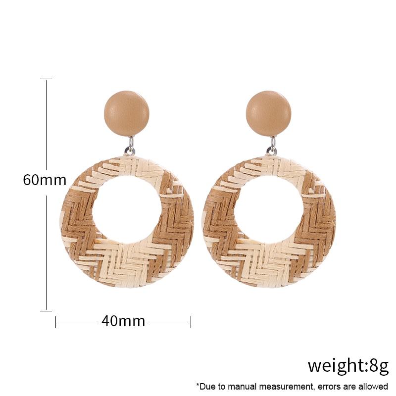 Bohopan-New-Geometric-Rattan-Weave-Drop-Earring-For-Women-Vintage-Round-Square-Hollow-Wooden-Dangle-Earrings (5)