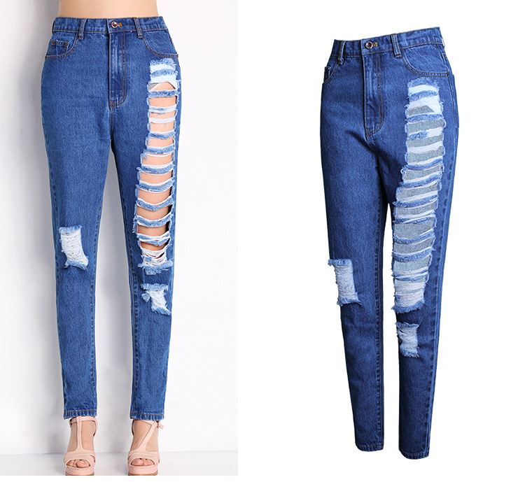 Compare Prices on Ripped Jeans on Sale- Online Shopping/Buy Low ...