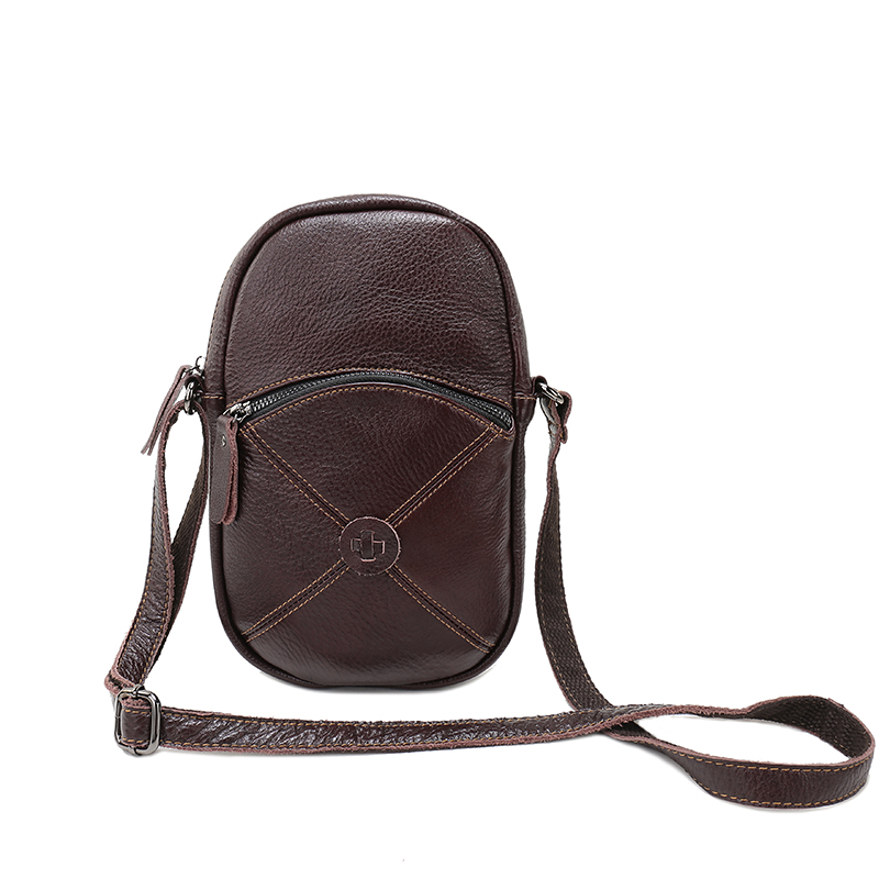 5e70913038cf Nuleez Real Leather Handbags Casual Weekend Crossbody Bags For Women Small Genuine  Leather Leisure Summer Bag Green Brown 1225 on Aliexpress.com