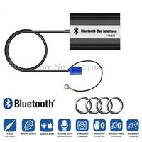 Coche Bluetooth A2DP Adaptador para Audi A2 A3 A4 A6 A8 S4 S6 S8 All Road TT Enchufe Interfaz 8Pin 12Pin Cargador de Coche Reproductor de Música MP3