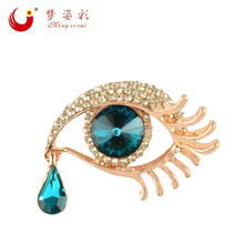 Blue Crystal Angel Teardrop (China)