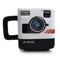 Photo Mug Fashion Coffee&Tea&MIlk Mug British Style Camera Lens Drinking Cup For Office Novelty Home Party Essential Drinkware
