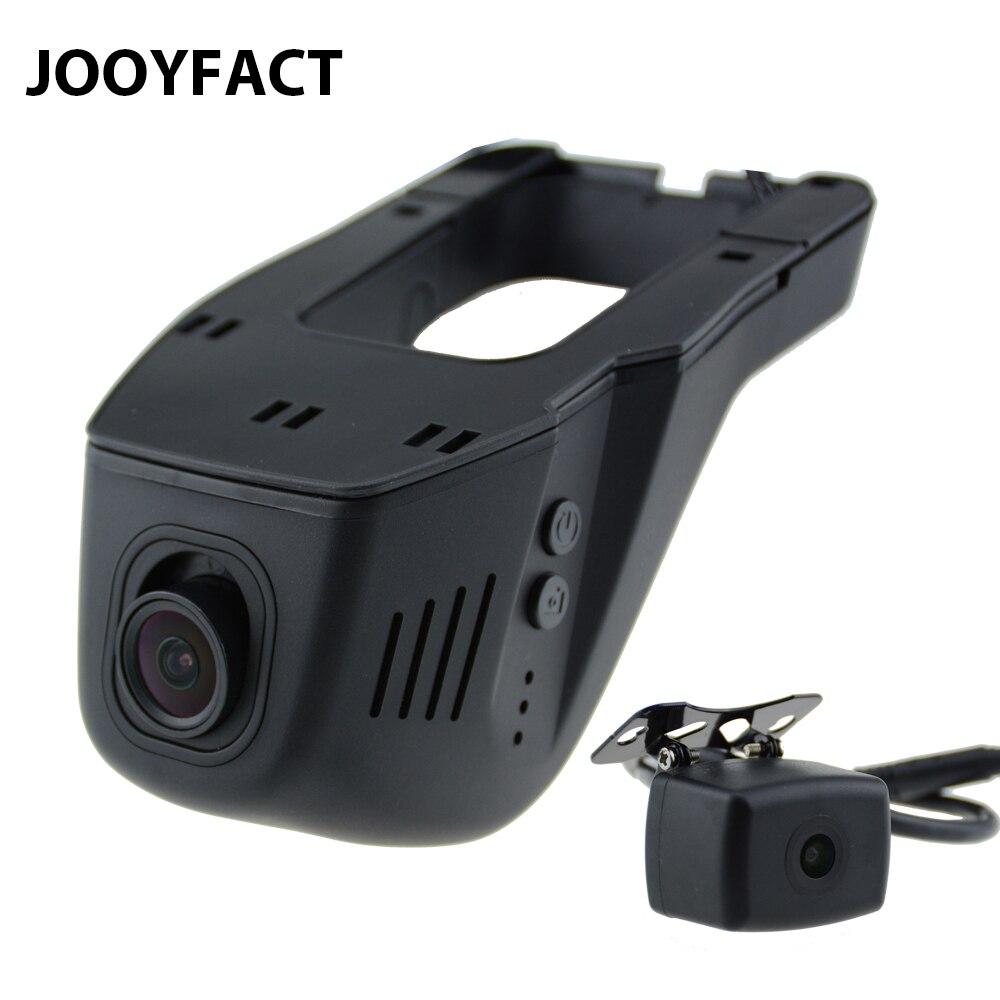 JOOYFACT A6 Car DVR DVRs Registrator Dash cámara Digital Video Recorder lente Dual 1080 p visión nocturna 96663 IMX323 trasera WiFi