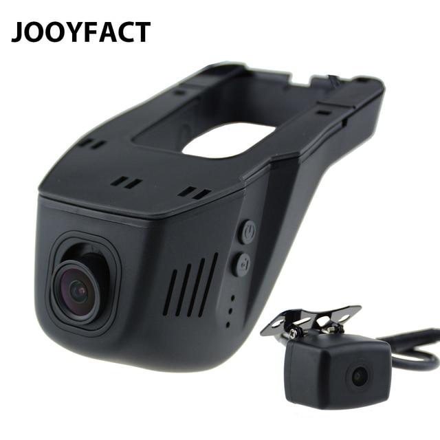 JOOYFACT A6 車 DVR Dvr Registrator ダッシュカムカメラデジタルビデオレコーダーデュアルレンズ 1080 1080p ナイトビジョン 96663 IMX323 wiFi リア
