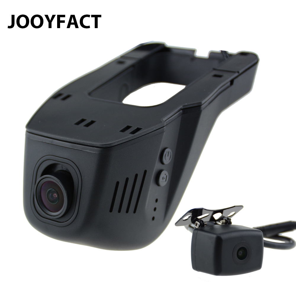 JOOYFACT A6 Car DVR DVRs Registrator Dash Cam Camera Digital Video Recorder Dual Lens 1080P Night Vision 96663 IMX323 WiFi Rear