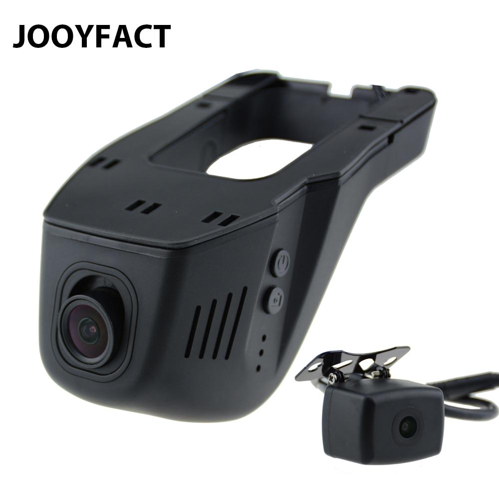 Jooyfact A6 car DVR DVRs registrator Dash cámara digital video recorder lente dual 1080 p noche versión 96663 IMX 323 wifi