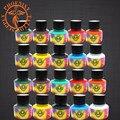 20 Colores/Botellas Conjunto Pigmento Del Tatuaje Kits de Tatuaje Arte Corporal 5 ml Profesional de Belleza Suministros de Tatuaje Permanente de Pinturas