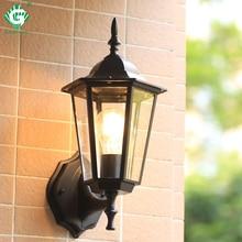 Vintage Wall Lamp Outdoor Lighting LED Street Garden Villa Porch Lights Waterproof E27 Bulb For Patio Bronze Sconce