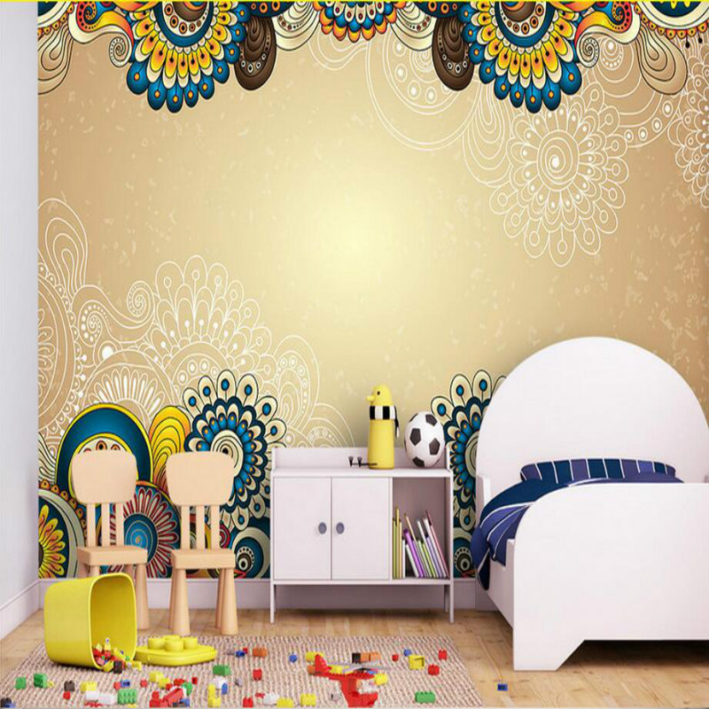 3D Wallpaper for Walls 3d Decorative Wall Paper Background Painting Mural Wallpapers Bohemian Pattern Home Improvement 3d wall paper rolls wallpaper for walls 3d murals hd black and white tree simple 3d tv background wallpapers home improvement