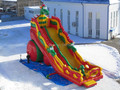 (China Guangzhou)  inflatable slides,Castle slides  Long slide  CHA-111
