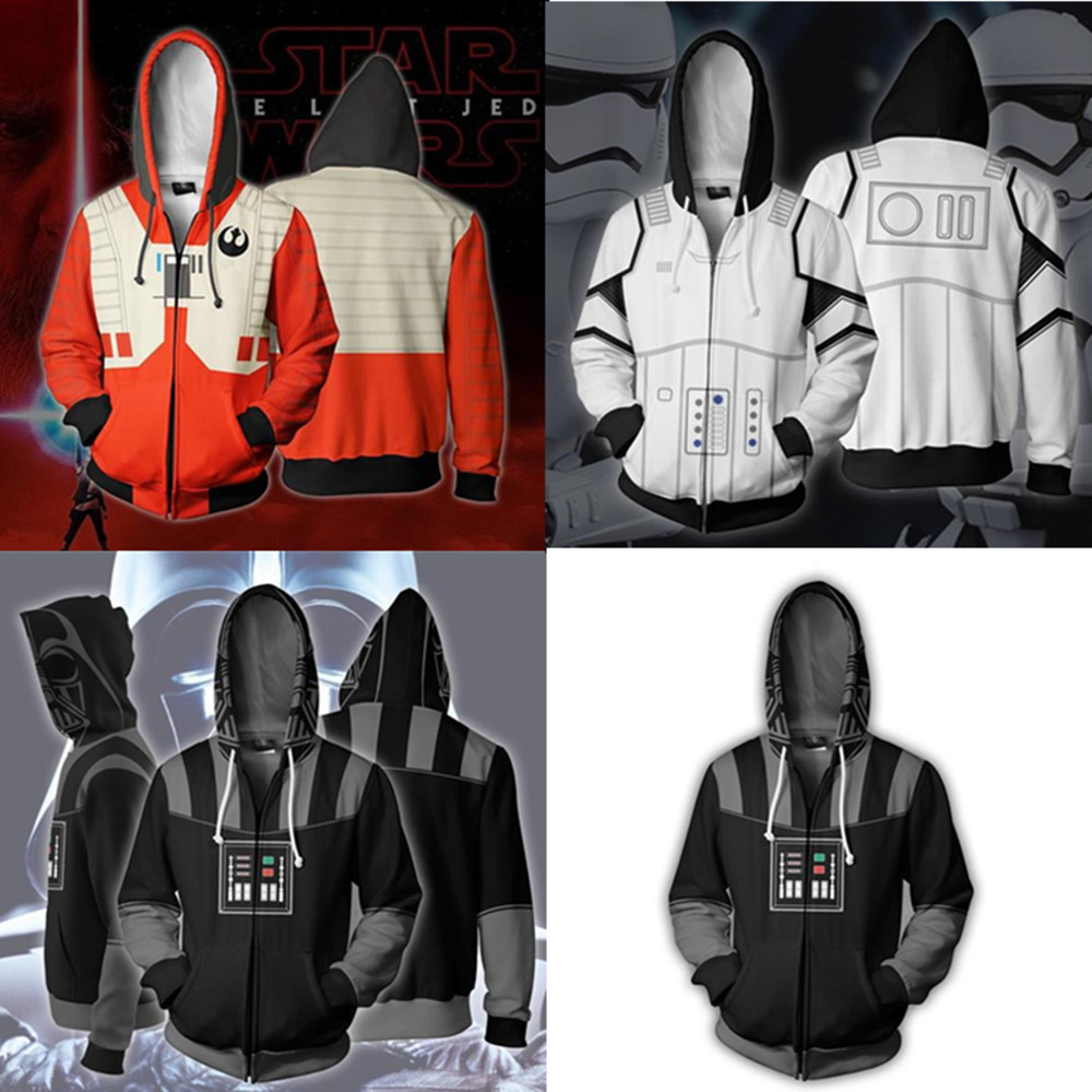 Ambitious Star Wars Imperial Stormtrooper Cosplay Costume Star Wars Darth Vader Hoodies 3d Printed Sweatshirt Men's And Women's Sportswear To Enjoy High Reputation At Home And Abroad
