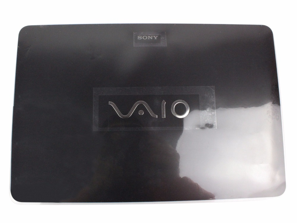 New For Sony Vaio SVF152 SVF153 LCD Back Cover TouchScreen 3FHK9LHN060 Black  цены онлайн