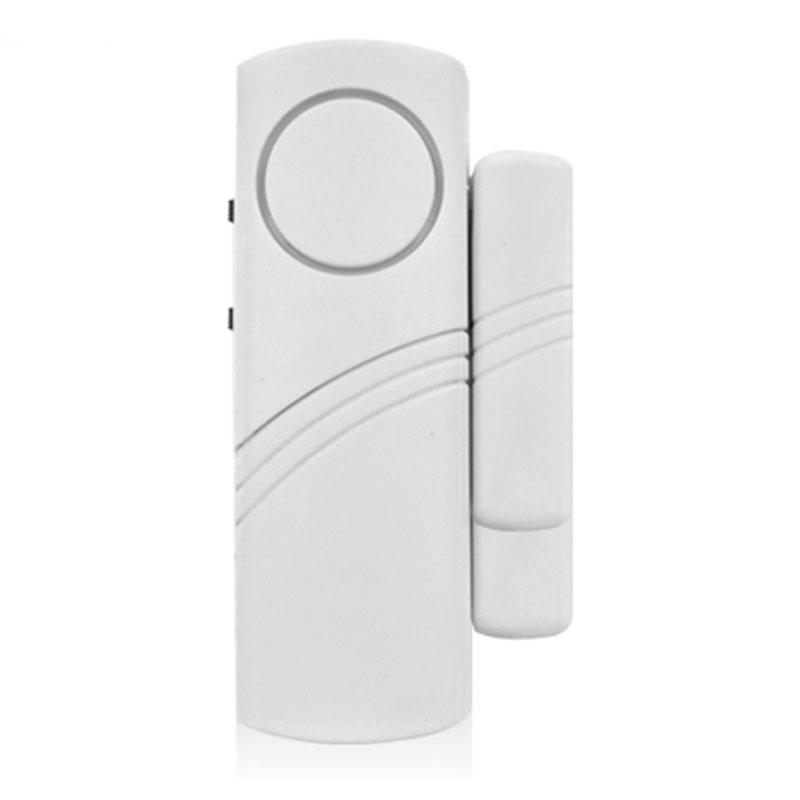 Door Window Wireless Burglar Alarm with Magnetic Sensor Home Safety Wireless Longer System Security Device White Wholesale hot sale wireless magnetic sensor door window entry alarm system loud alarm sound home security burglar alarm device