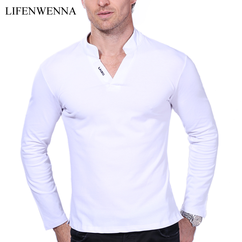 Buy hot sale new 2017 fashion brand men for Polo shirts long sleeve men