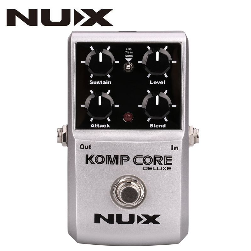 NUX Komp Core Deluxe Guitar Effects Pedal Reduce Redundant Dynamic Ensure Balanced Performance True bypass Effects Guitar Pedal nux ds 3 true bypass classic distortion effects pedal for guitar
