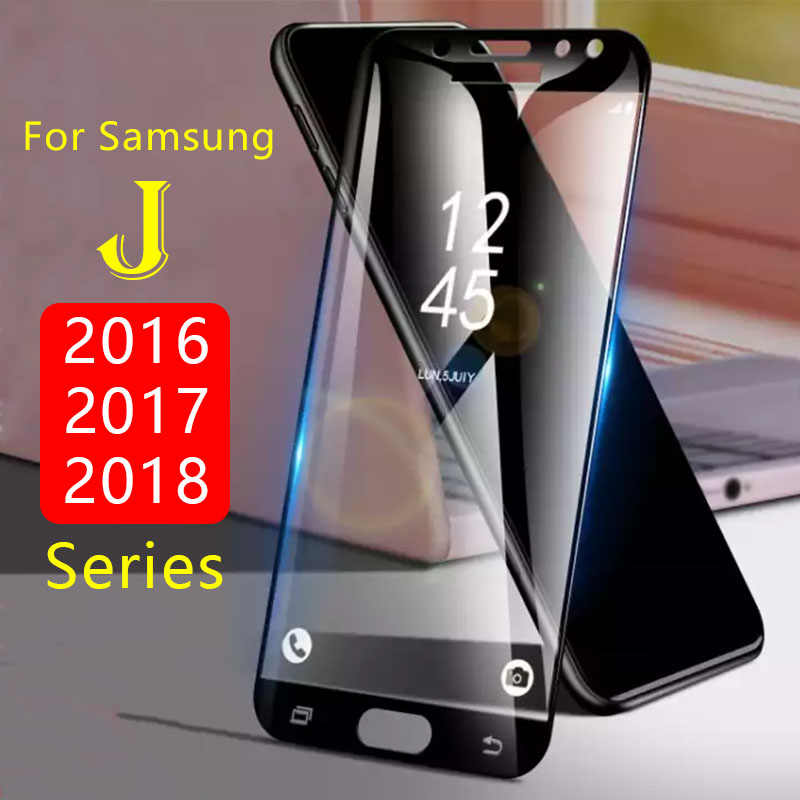 Protective Glass For Samsung J3 J5 J7 2016 2017 J4 J6 2018 Tempered Glas Screen Protector Case On The Galaxy J 3 5 7 4 6 Film 3d