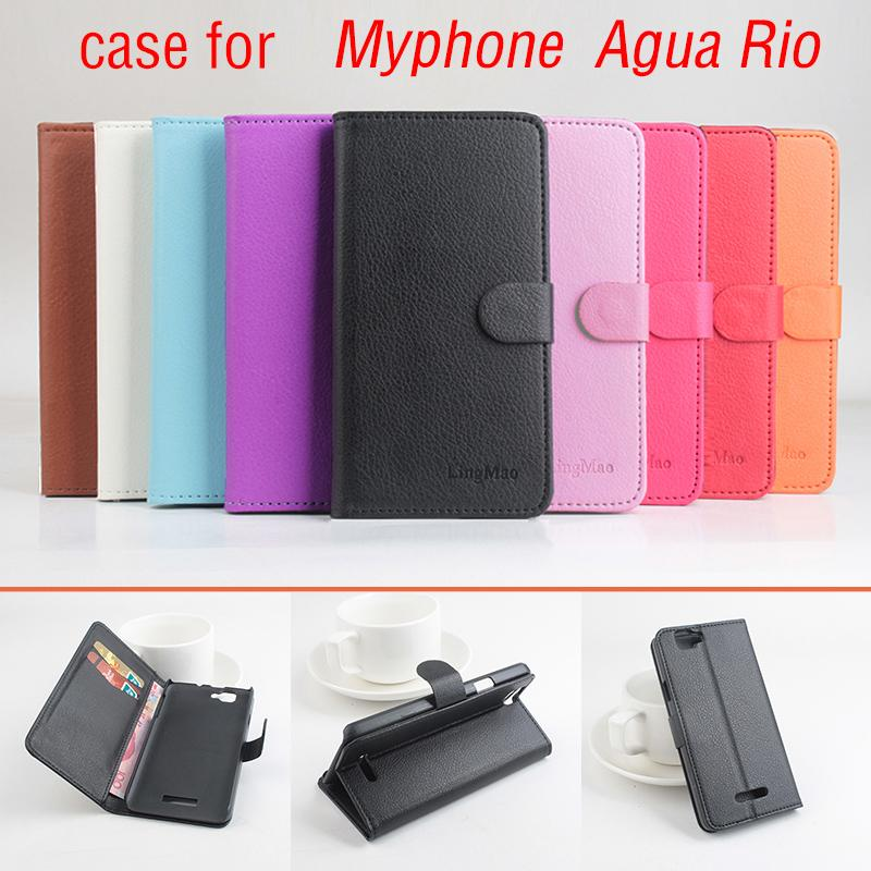 Phone case for Myphone agua rio About Flip Cover Mobile Phon
