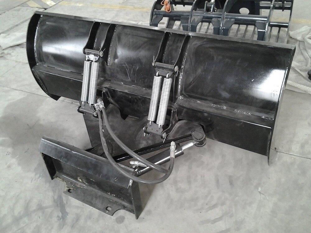 US $500 0 |Snow blade blower for SHK CL snow blower diesel Boxer mini  loader, Bobcat loader, Ditch witch,Thomas,Digga,Kanga,Ramrod loader on