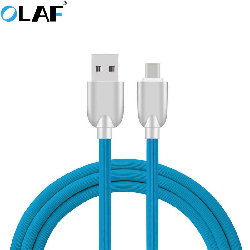 Olaf USB Type-C Cable USB 3.1 Type C Cable Fast Charging USB-C Charger Cord for Samsung S8 Xiaomi Huawei P9 P10 LG OnePlus